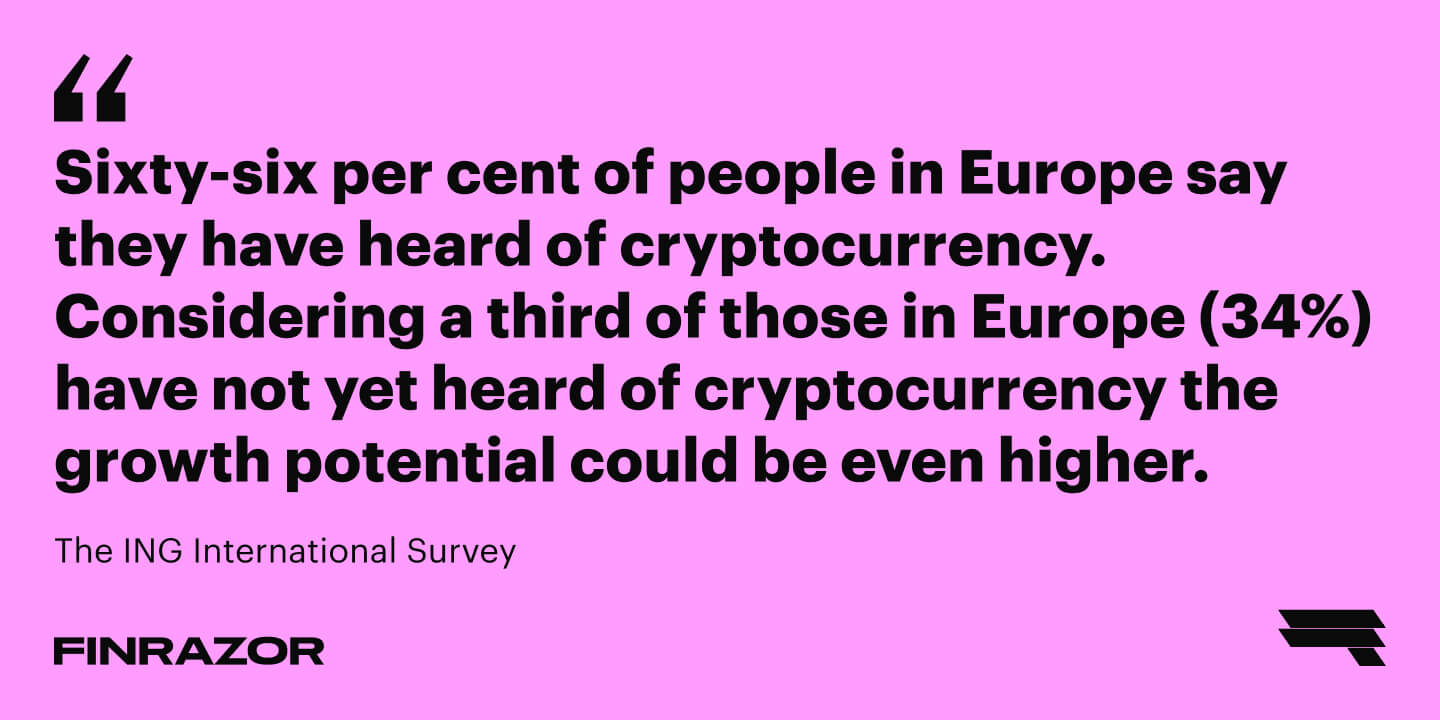 Forecast: cryptocurrency has a huge growth potential