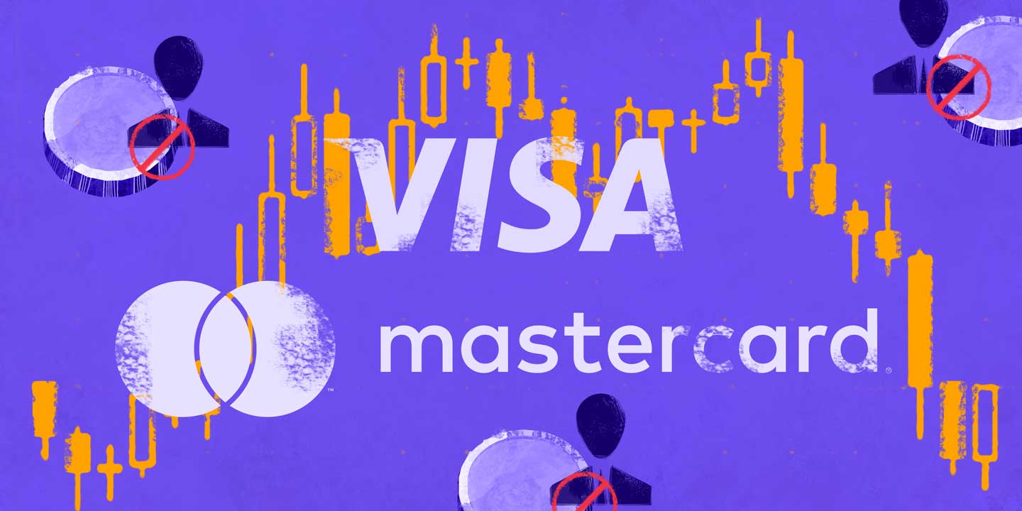 MasterCard Prohibits Crypto Transaction; VISA to Follow Suit