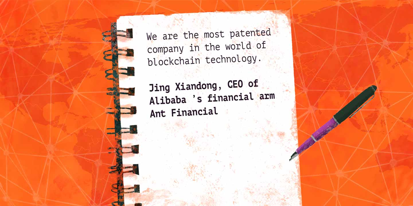 Alibaba is Leading the Pack in Blockchain Patent