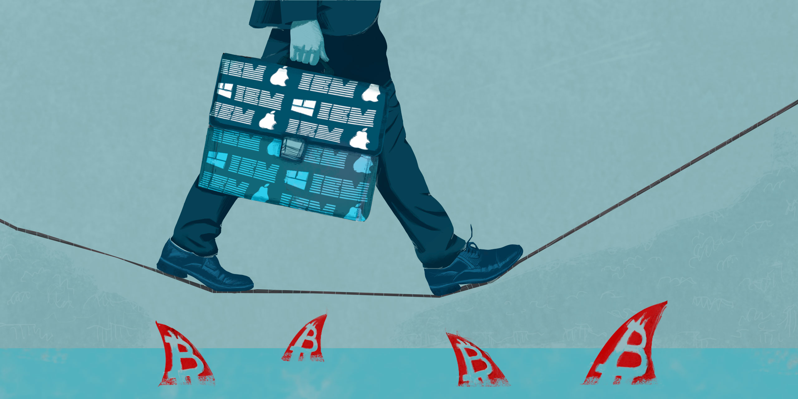 Institutional investors walk a delicate line between a fear to lose and a chance to boost their fortune