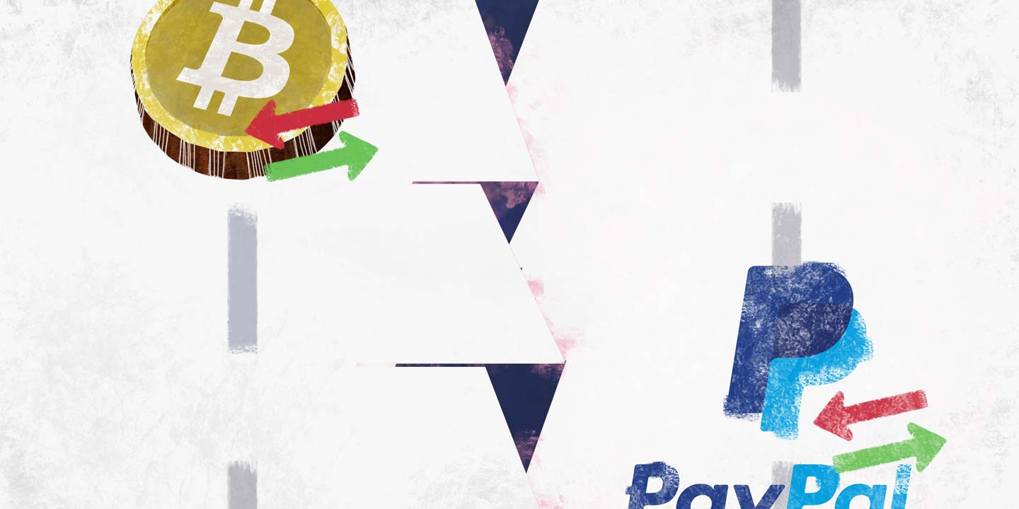 Bitcoin outperforms Paypal and Visa in transaction value