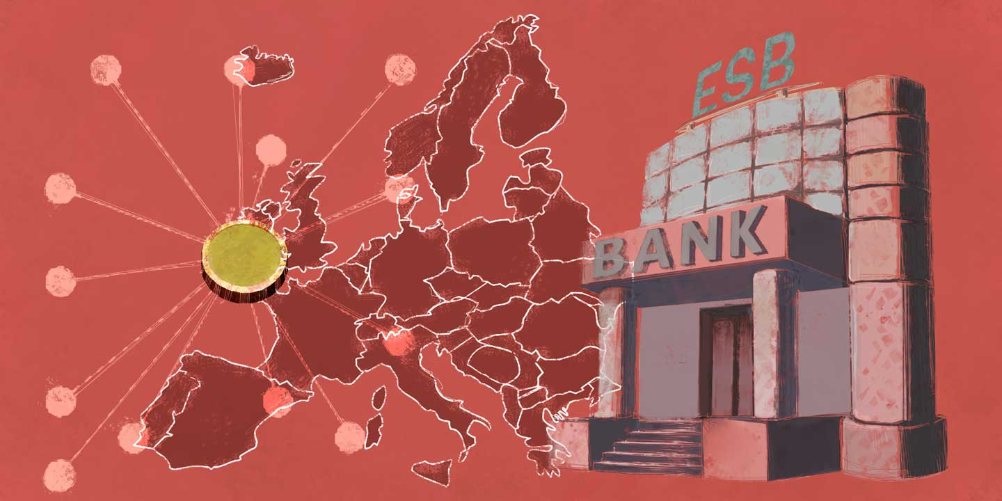 European Central Bank Sees No Immediate Need for Euro Cryptocurrency