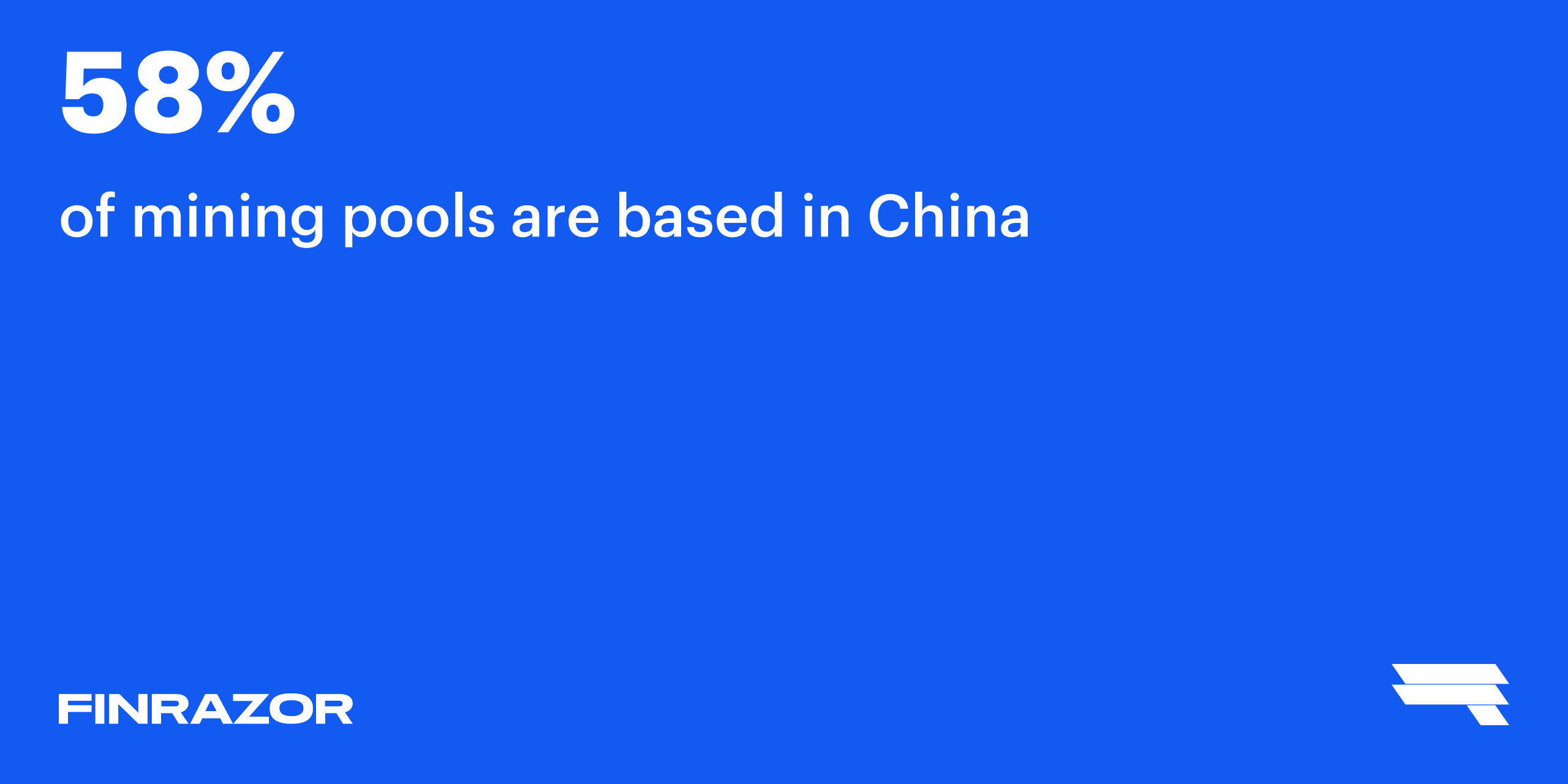 China is the leader in terms of Bitcoin miners