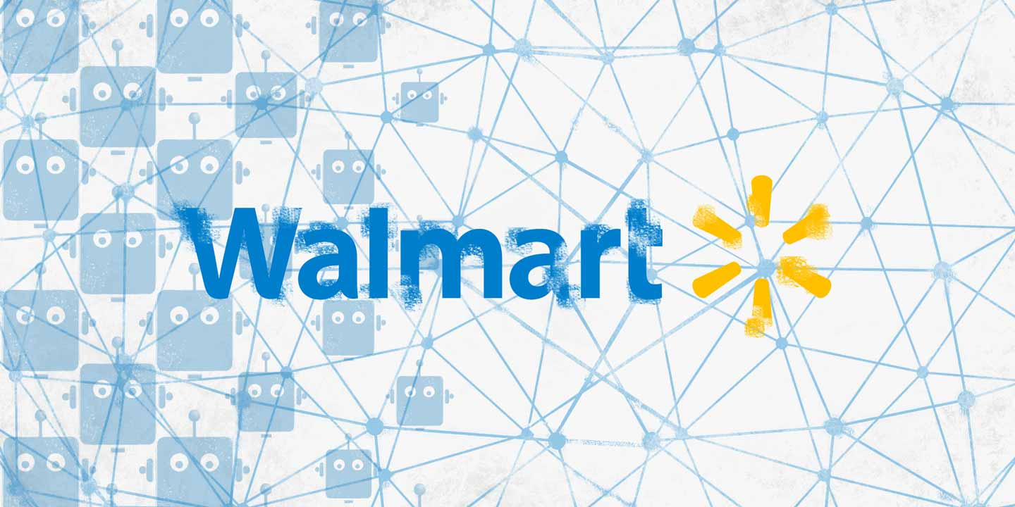 Walmart Files Patent for Blockchain Based System for Delivery Drones