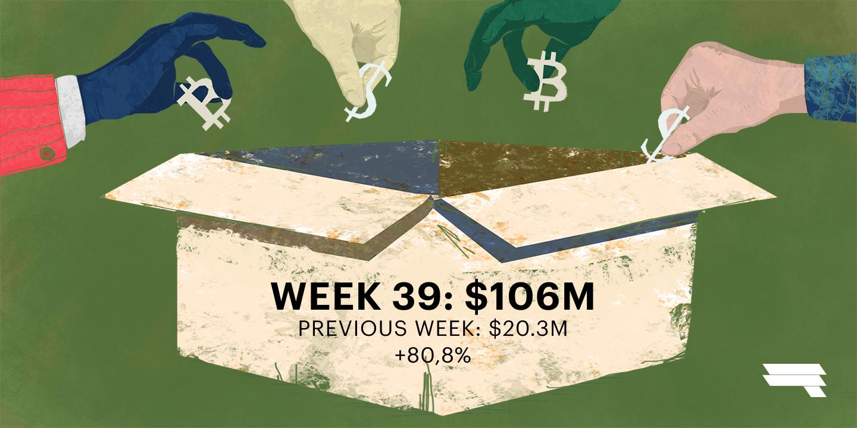 Top ICOs Raising Funds, Week 39 '18